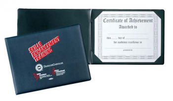 Sealed Certificate Holder