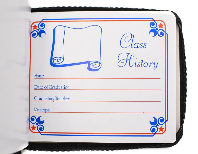 Traditional Autograph Book - Stock Imprint
